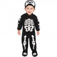 D�guisement B�b� Squelette 6-12 mois