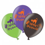 6 Ballons Happy Halloween