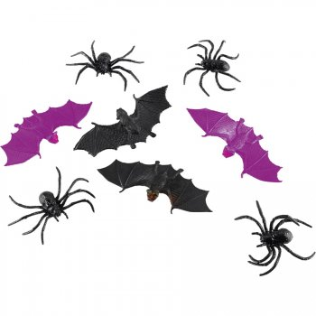 6 Bébêtes d Halloween