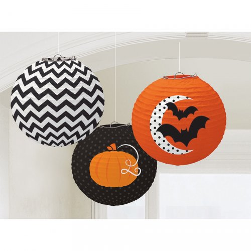 3 Lanternes Halloween Folie