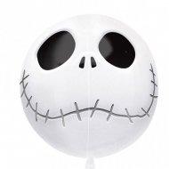 Ballon Orbz à Plat Squelette Mr Jack