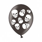 6 Ballons T�tes de Morts