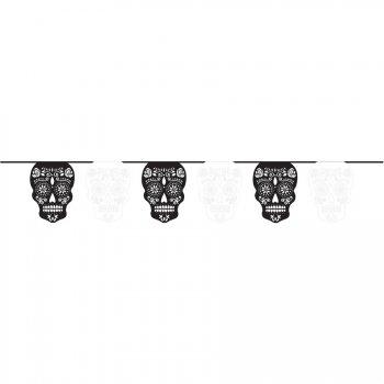 Guirlande Squelettes Calaveras Papel Picado