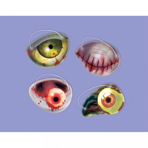 12 Caches-oeil Pirates Zombies