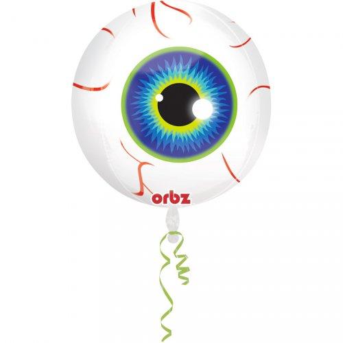 Ballon Orbz Gonflé à l Hélium oeil
