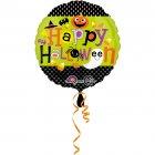 Ballon � Plat Happy Halloween