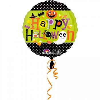 Ballon à Plat Happy Halloween