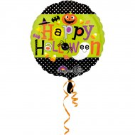 Ballon Hélium Happy Halloween