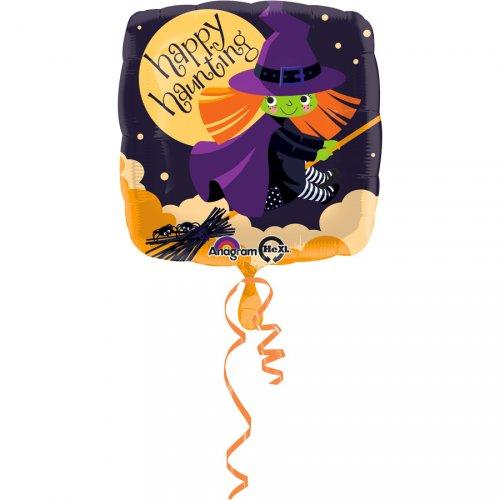 Ballon Gonflé à l Hélium Sorcière Balai