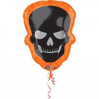Ballon Géant Tête de Mort Smile