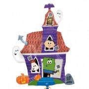 Ballon G�ant Maison Hant�e Spooky