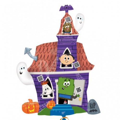 Ballon Géant Maison Hantée Spooky