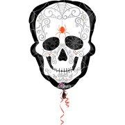 Ballon G�ant T�te de Mort Baroque