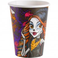 8 Gobelets Monster High Halloween