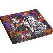 16 Serviettes Monster High Halloween