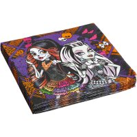 Contient : 1 x 16 Serviettes Monster High Halloween