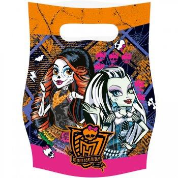 6 Pochettes cadeaux Monster High Halloween
