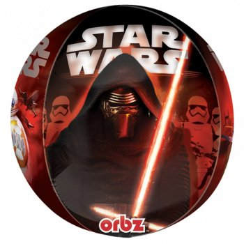 Ballon Orbz à plat Star Wars - Le Réveil de la Force