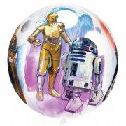 Ballon Orbz à plat Star Wars Culte