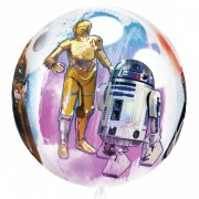 Ballon Orbz Gonflé à l'Hélium Star Wars Culte