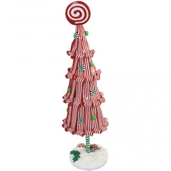 Grande Décoration Sapin de Noël Candy Luxe