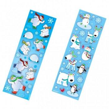 8 planches de Stickers Les Amis de Noël