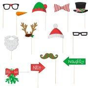 Kit Photo Booth Noël Fun