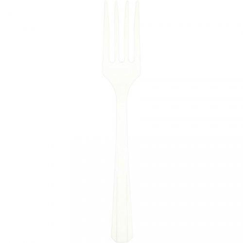 10 Fourchettes Blanc