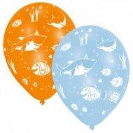 6 Ballons Océan Fun