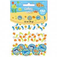 Contient : 1 x Confettis Océan Fun