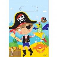 8 Pochettes cadeaux Petit Pirate