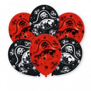 6 Ballons Petit Pirate