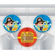 3 Boules Papiers Petit Pirate