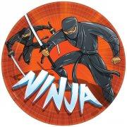 8 Assiettes Ninja