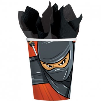 8 Gobelets Ninja