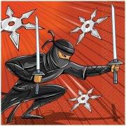 16 Serviettes Ninja