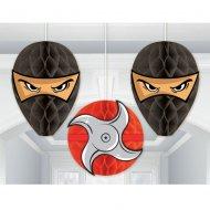 3 Boules Papiers Ninja