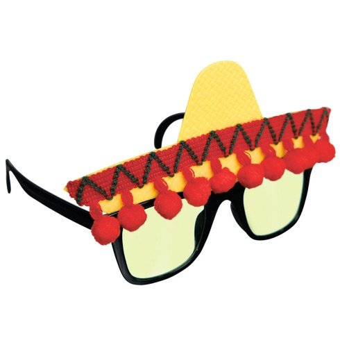 Lunettes Fantaisie Fiesta Mexicaine