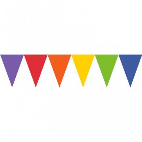 Guirlande 24 Fanions Rainbow