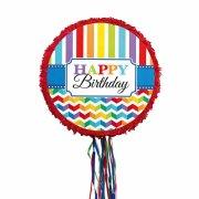 Pull Pinata Happy Birthday