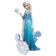 Ballon G�ant Elsa Reine des Neiges Airwalkers