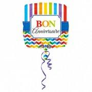 Ballon Hélium Bon Anniversaire