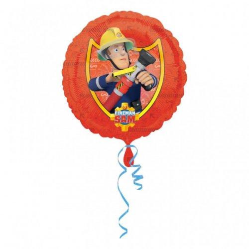 Ballon Gonflé à l Hélium Sam le Pompier