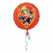 Ballon à plat Sam le Pompier