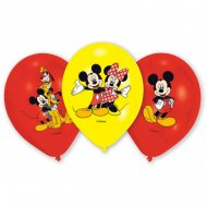 6 Ballons Mickey Mouse et ses amis