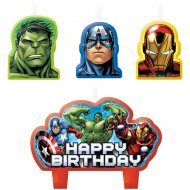 4 Bougies Avengers Rassemblement