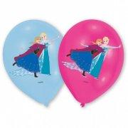 6 Ballons La Reine des Neiges sur Glace
