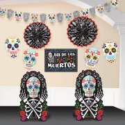 Set 10 décorations Jour des Morts