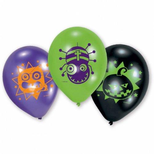 6 Ballons Halloween Kids