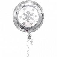 Ballon � Plat Flocons Argent